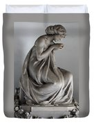 Famiglia Meretti Grave Marker Monumental Cemetery Milan Italy Duvet Cover