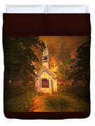 Family Chapel Duvet Cover