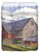 A Scottish Farm  Duvet Cover