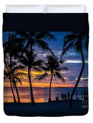 Family Journey Into The Night Duvet Cover