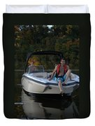 Family Outing IIi Duvet Cover