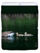 Family Swim Duvet Cover