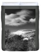 Fan Fawr Brecon Beacons 1 Mono Duvet Cover