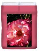 Fancy Flaminco Rose Duvet Cover