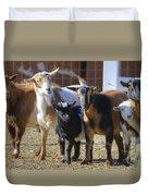 Fancy Goats Duvet Cover