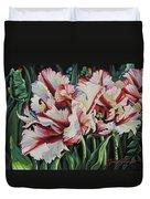 Fancy Parrot Tulips Duvet Cover
