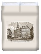 Faneuil Hall, Boston, Which Webster Duvet Cover