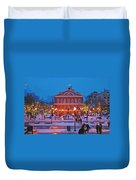 Faneuil Hall Holiday- Boston Duvet Cover
