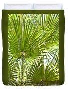 Tropical Fans Duvet Cover