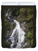 Fantail Waterfalls Duvet Cover