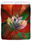 Fantasy Flower Duvet Cover