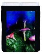 Fantasy Flowers Embossed Hp Duvet Cover