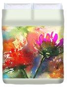 Fantasy Flowers Duvet Cover