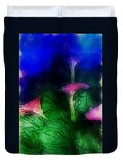 Fantasy Flowers Traveling Pigments Hp Duvet Cover