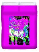 Fantasy Painted Dream Horse Duvet Cover