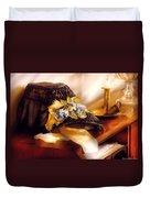 Fantasy - The Widows Bonnet  Duvet Cover