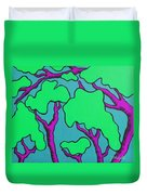 Fantasy Trees Duvet Cover