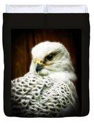 Fantasy White Falcon Duvet Cover