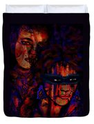 Farewell To Love Duvet Cover by Natalie Holland