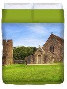 Farleigh Hungerford Castle Duvet Cover