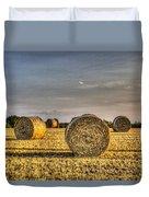 Farm Bales Duvet Cover