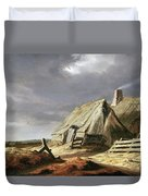 Farm Buildings In A Landscape, C.1625-28 Duvet Cover