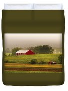 Farm - Farmer - Tilling The Fields Duvet Cover