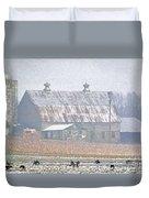 Farm Fed Duvet Cover
