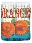 Farm Fresh Fruit 2 Duvet Cover