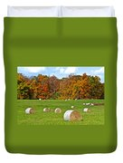 Farm Fresh Hay Duvet Cover