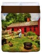 Farm - Laundry - Old School Laundry Duvet Cover
