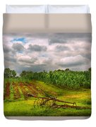 Farm - Organic Farming Duvet Cover