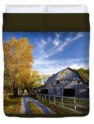 Farm Road Duvet Cover