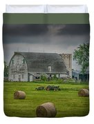 Farm Scene Duvet Cover