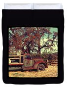 Farm Truck Duvet Cover