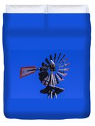 Farm Windmill Duvet Cover