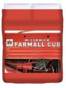Farmall Cub Duvet Cover