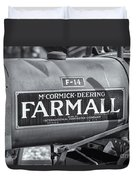 Farmall F-14 Tractor II Duvet Cover by Clarence Holmes