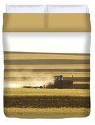 Farmer Working Duvet Cover