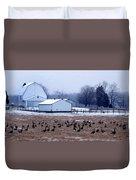 Farmer's Christmas Duvet Cover