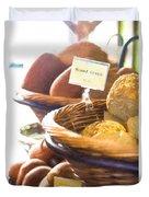 Farmer's Market Fresh Bread Duvet Cover