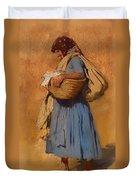 Farmer's Wife Duvet Cover