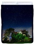Farmhouse Star Trails.  Duvet Cover