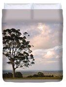 Farmland Sunset Duvet Cover