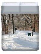 Farnsworth Park Path Duvet Cover