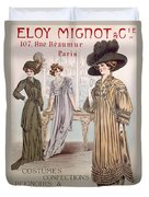 Fashion Advert For Eloy Mignot Duvet Cover