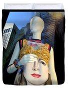 Fashion Face Duvet Cover