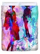 Fashion Models 8 Duvet Cover