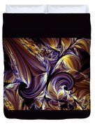 Fashion Statement Abstract Duvet Cover