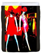 Fashion Statement Duvet Cover